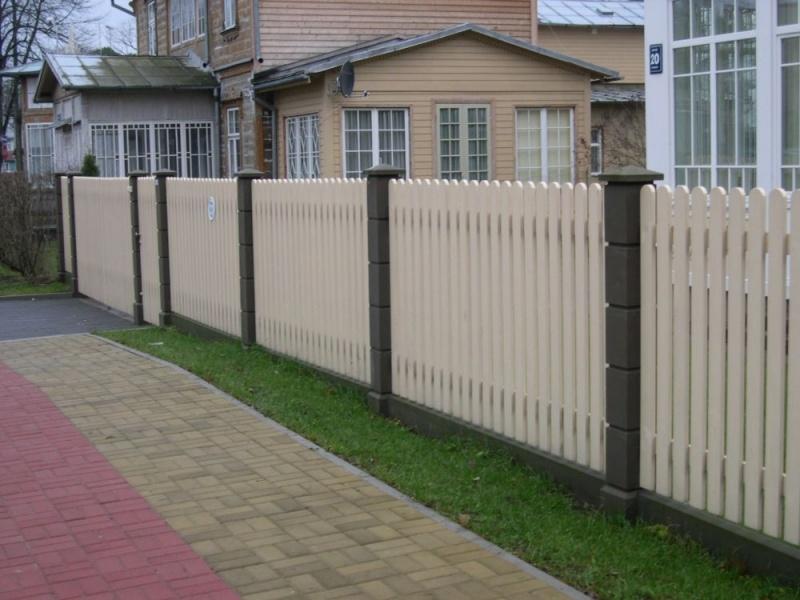 Своими руками для дачи забор
