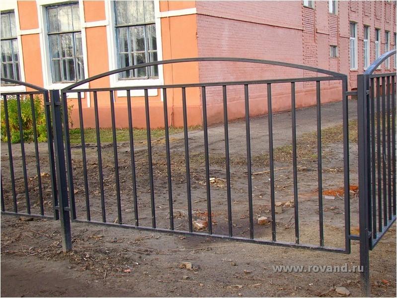 Железный забор своими руками 786