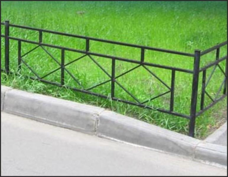 Заборчики для клумб и цветников своими руками фото из профильной трубы
